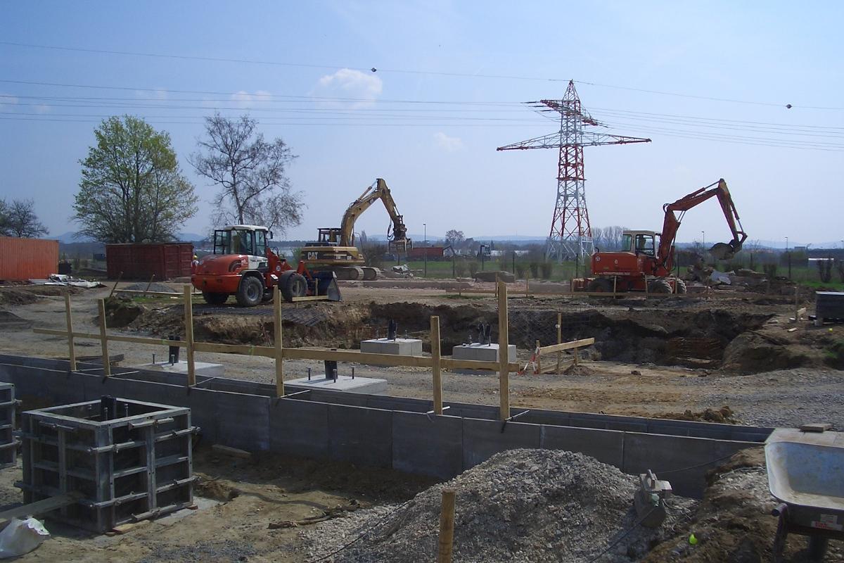 Bauüberwachung Umspannwerk Bamberg Nord