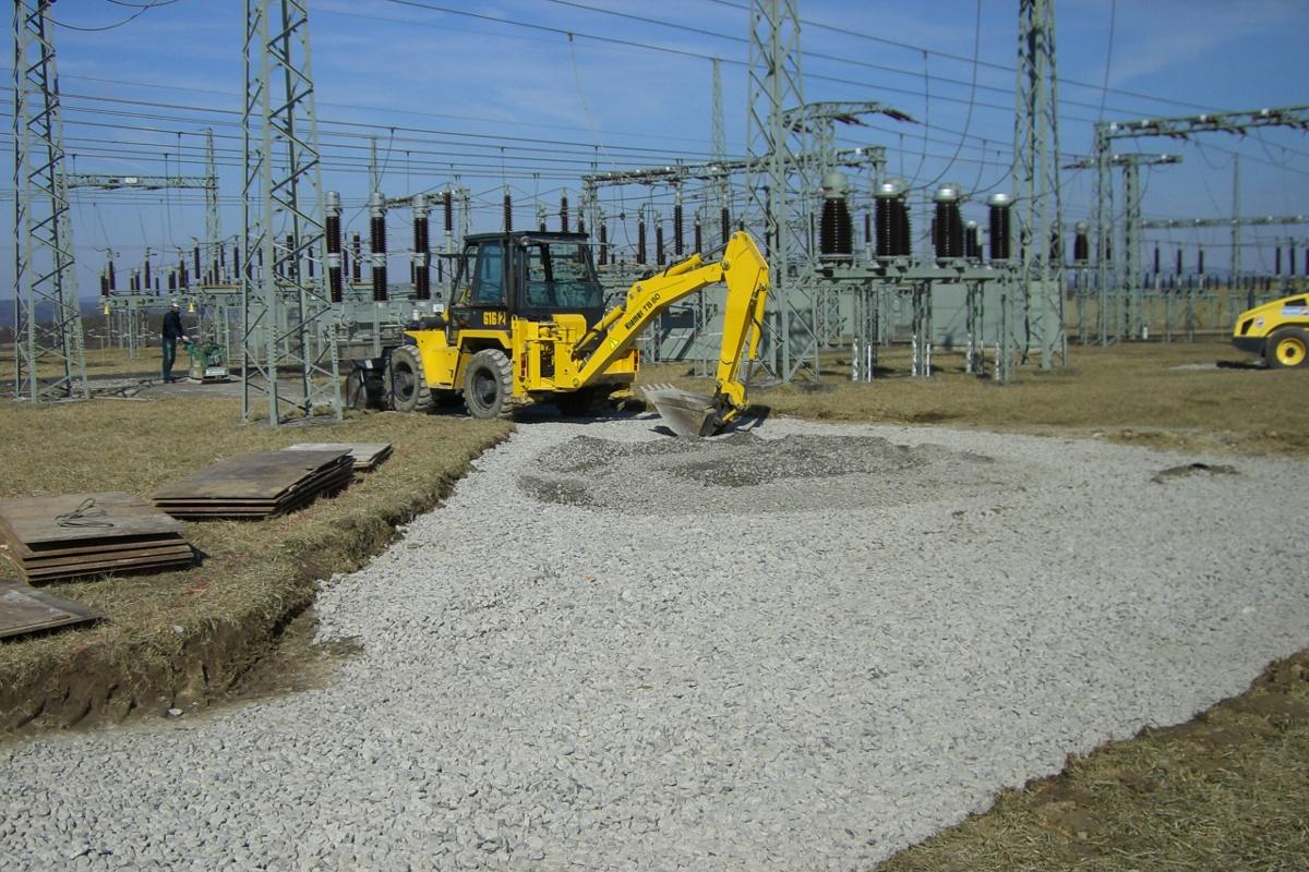 Bauüberwachung Umspannwerk Eltingshausen