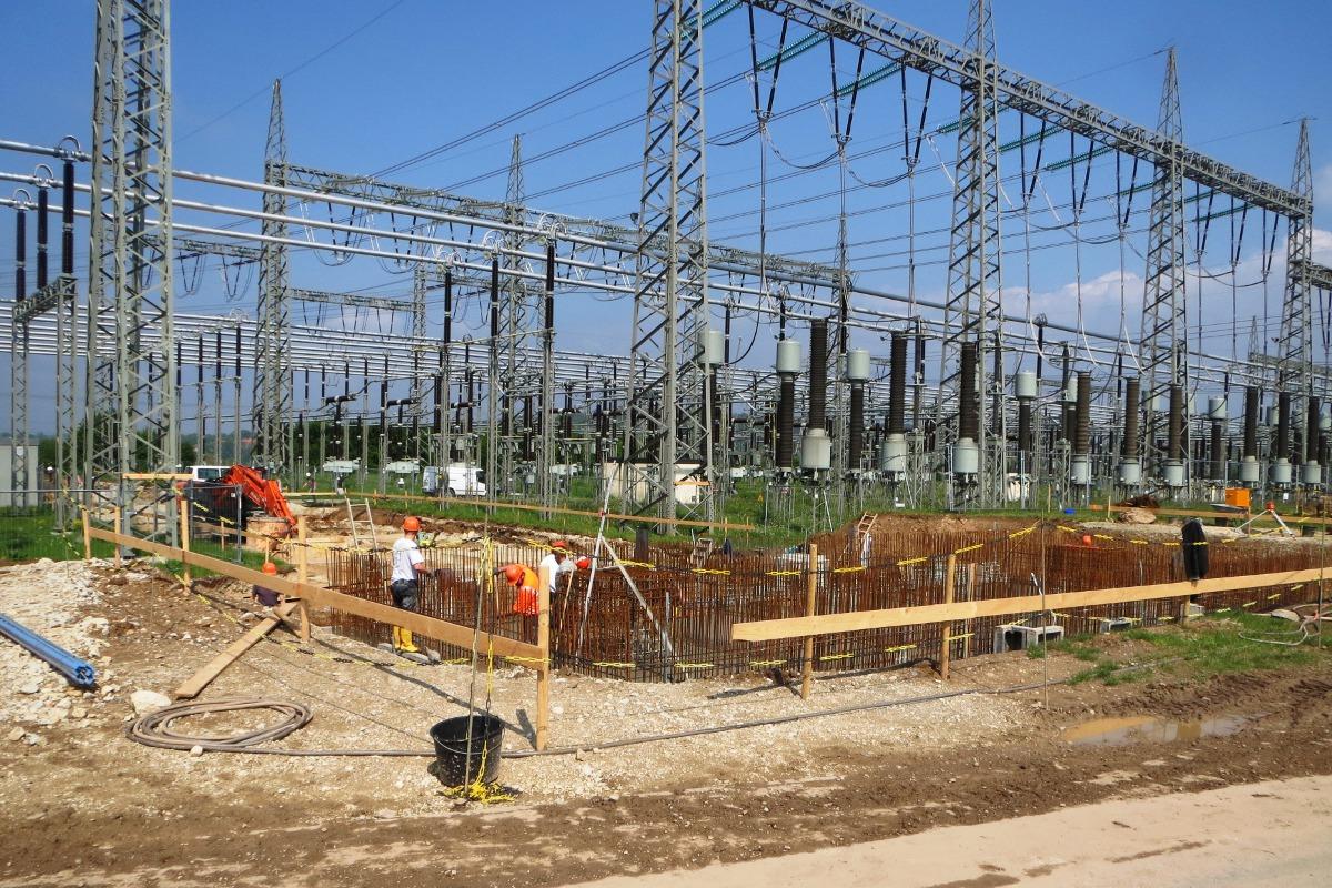 Bauüberwachung Umspannwerk Redwitz
