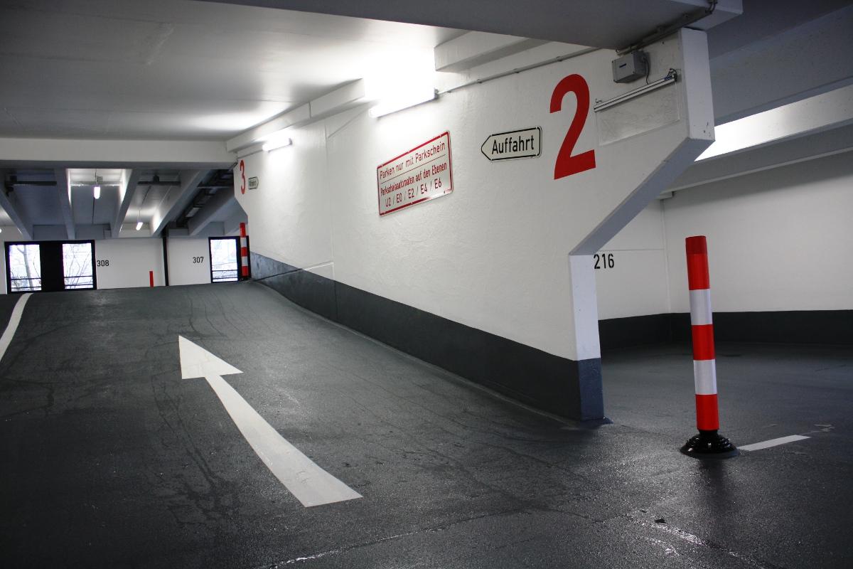 Betoninstandsetzung Parkhaus Lauf