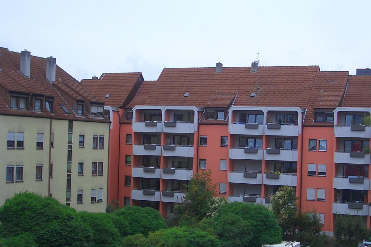 Betoninstandsetzung Wohnanlage Erlangen
