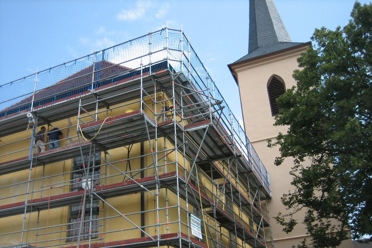 Denkmalpflege Kirche Burgwindheim