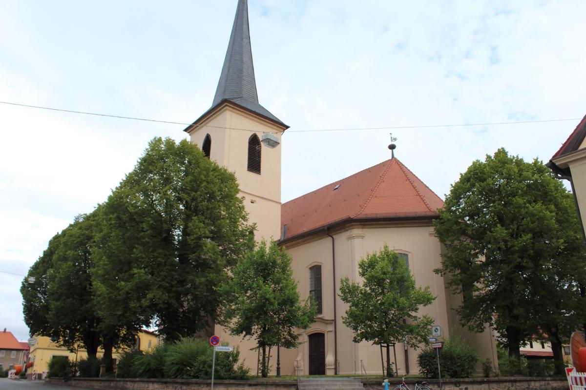 Denkmalfpflege Kirche Burgwindheim