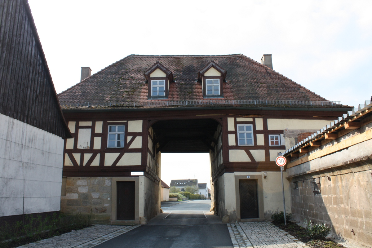 Denkmalpflege Torhaus Rattelsdorf