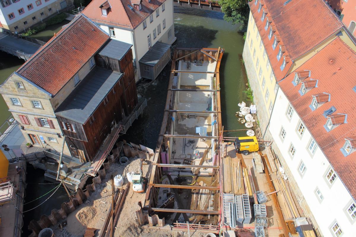 Tragwerksplanung Untere Mühlen Bamberg