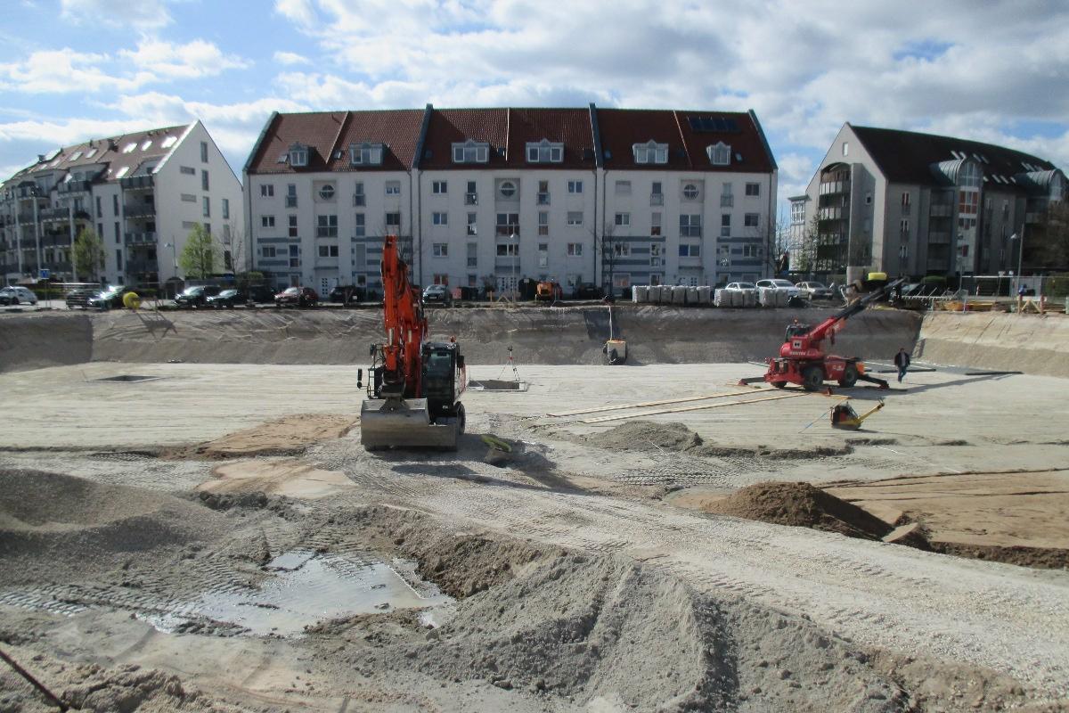 Tragwerksplanung Wohnanlage Nürnberg