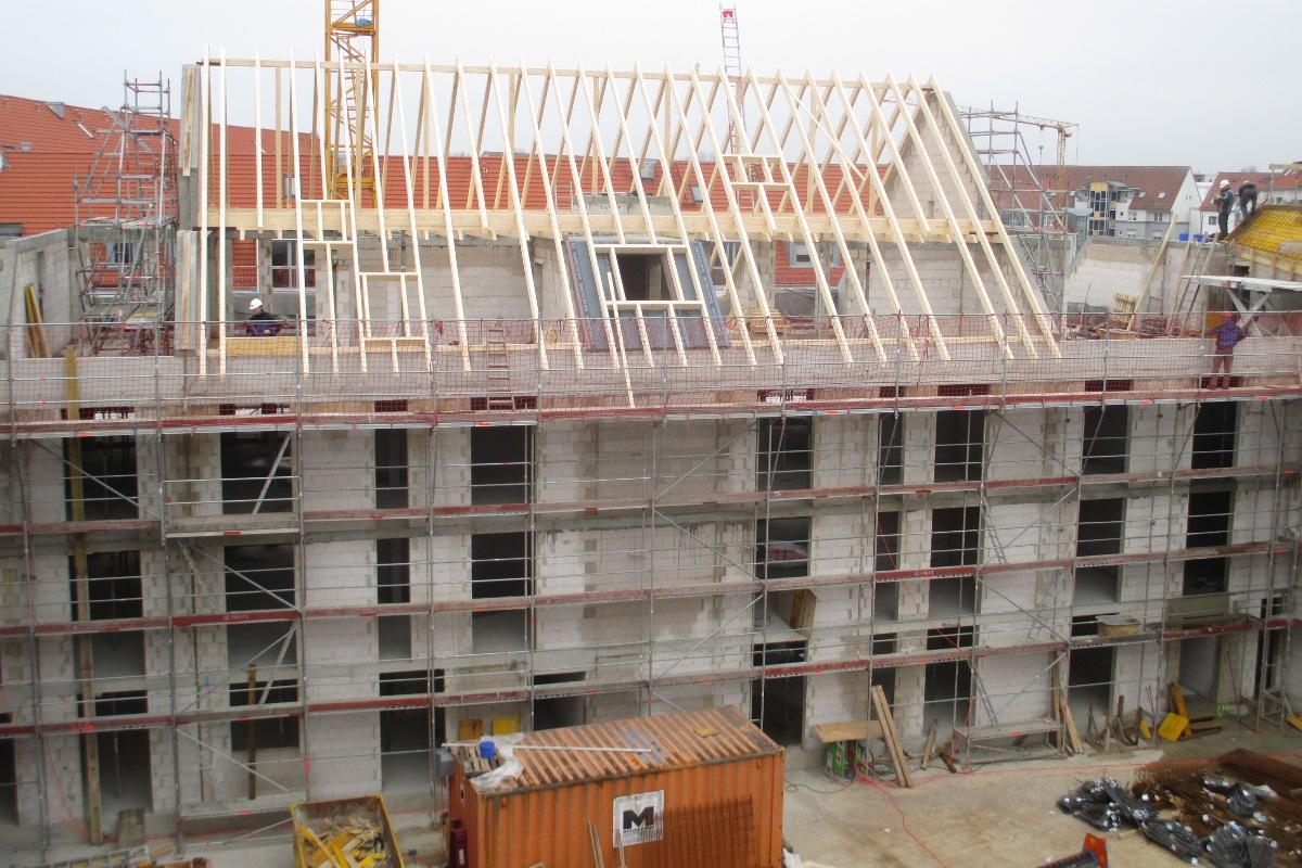 Tragwerksplanung Neubau Wohnanlage Prager Straße Nürnberg
