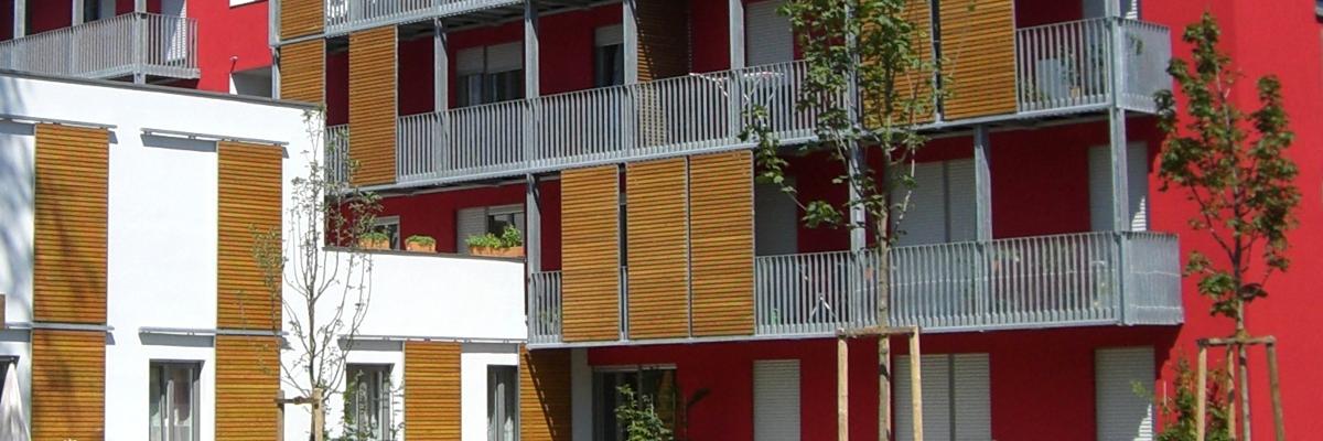 Tragwerksplanung Wohnanlage Erlangen