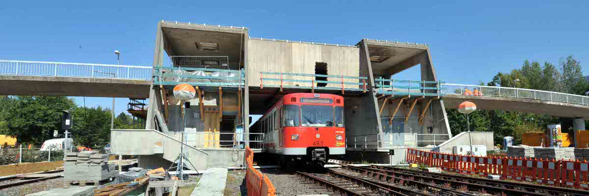 Betoninstandsetzung U-Bahnhof Nürnberg