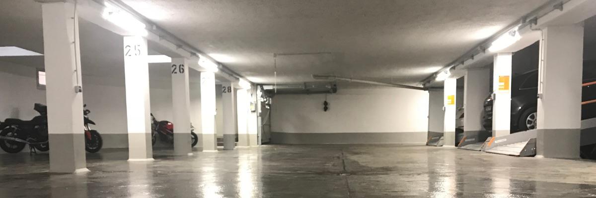 Betoninstandsetzung Tiefgarage München